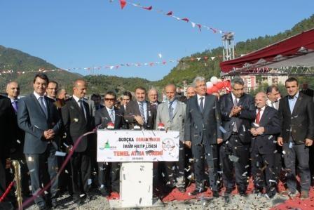 Borçka Osman Bakır Anadolu İmam-Hatip Lisesinin temeli atıldı