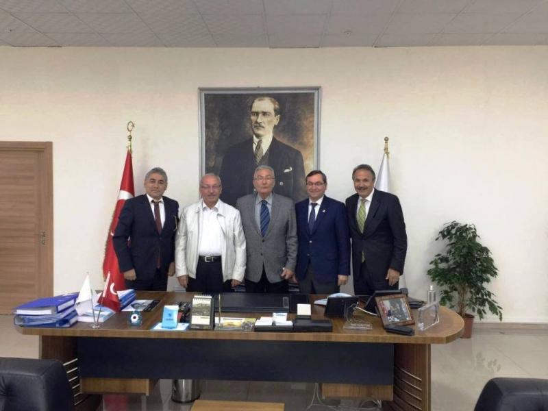 Deniz Baykal'dan Tekirdağ Büyükşehir Belediyesine Ziyaret