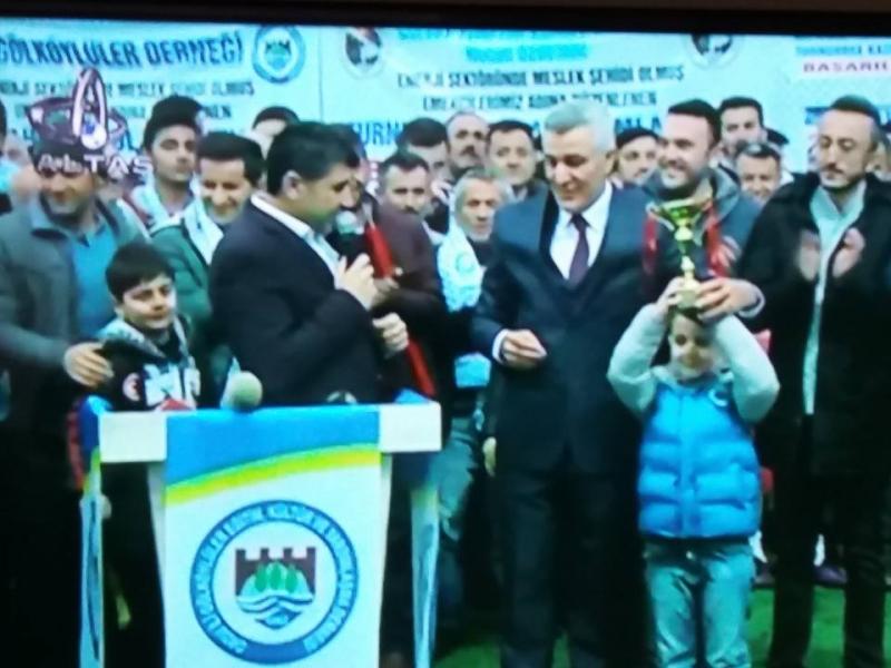 Gölköy'lüler turnuvasında Şampiyon Çetilli spor