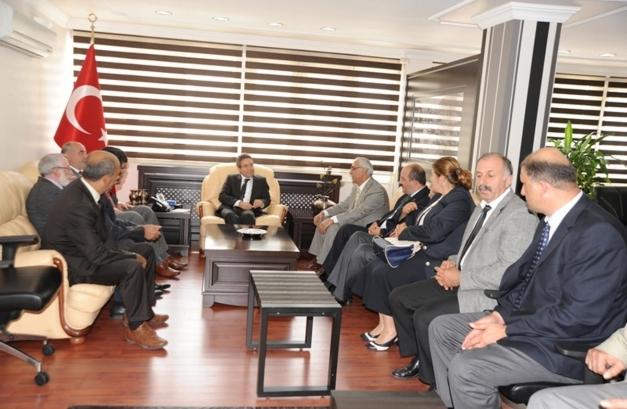 İl Genel Meclisi Üyelerinden Vali Cirit'e Ziyaret