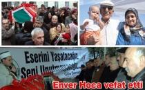 Enver Hoca son yolculuğuna uğurlandı