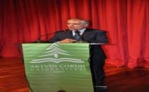 Rektör'den Artvin Bürokrasisine eleştiriler