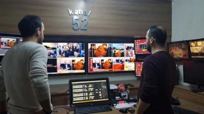 Uydudan yayın yapan Tv52 yerel televizyonunun binası mühürlendi